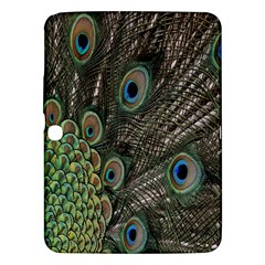 Close Up Of Peacock Feathers Samsung Galaxy Tab 3 (10 1 ) P5200 Hardshell Case