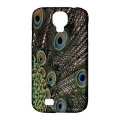 Close Up Of Peacock Feathers Samsung Galaxy S4 Classic Hardshell Case (pc+silicone)