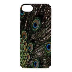 Close Up Of Peacock Feathers Apple Iphone 5s/ Se Hardshell Case