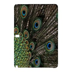 Close Up Of Peacock Feathers Samsung Galaxy Tab Pro 12 2 Hardshell Case