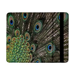 Close Up Of Peacock Feathers Samsung Galaxy Tab Pro 8 4  Flip Case