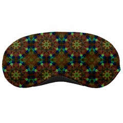 Seamless Abstract Peacock Feathers Abstract Pattern Sleeping Masks