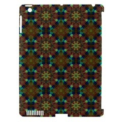 Seamless Abstract Peacock Feathers Abstract Pattern Apple Ipad 3/4 Hardshell Case (compatible With Smart Cover)