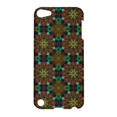 Seamless Abstract Peacock Feathers Abstract Pattern Apple Ipod Touch 5 Hardshell Case