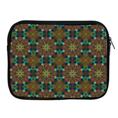 Seamless Abstract Peacock Feathers Abstract Pattern Apple Ipad 2/3/4 Zipper Cases