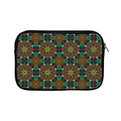 Seamless Abstract Peacock Feathers Abstract Pattern Apple Ipad Mini Zipper Cases