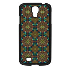 Seamless Abstract Peacock Feathers Abstract Pattern Samsung Galaxy S4 I9500/ I9505 Case (black)