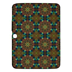 Seamless Abstract Peacock Feathers Abstract Pattern Samsung Galaxy Tab 3 (10 1 ) P5200 Hardshell Case