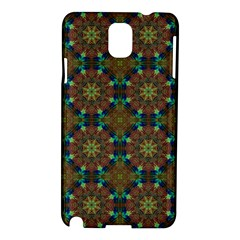 Seamless Abstract Peacock Feathers Abstract Pattern Samsung Galaxy Note 3 N9005 Hardshell Case