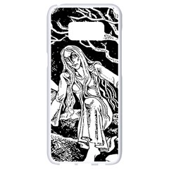 Vampire  Samsung Galaxy S8 White Seamless Case