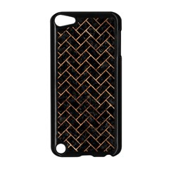 Brick2 Black Marble & Brown Stone Apple Ipod Touch 5 Case (black)