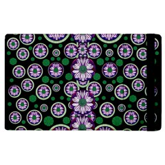 Fantasy Flower Forest  In Peacock Jungle Wood Apple Ipad 2 Flip Case