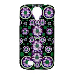 Fantasy Flower Forest  In Peacock Jungle Wood Samsung Galaxy S4 Classic Hardshell Case (pc+silicone)
