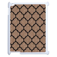 Tile1 Black Marble & Brown Colored Pencil (r) Apple Ipad 2 Case (white)