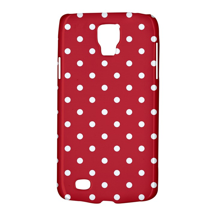 Red Polka Dots Galaxy S4 Active