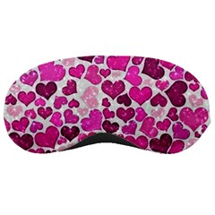 Sparkling Hearts Pink Sleeping Masks