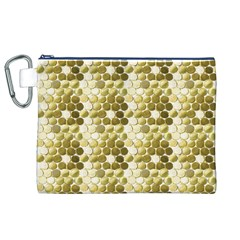 Cleopatras Gold Canvas Cosmetic Bag (xl)
