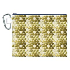Cleopatras Gold Canvas Cosmetic Bag (xxl)