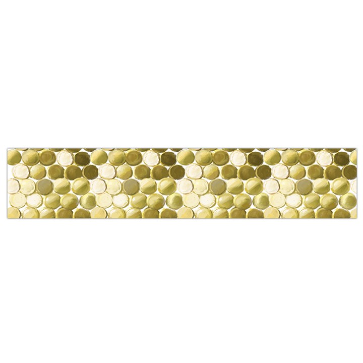 Cleopatras Gold Flano Scarf (Small)