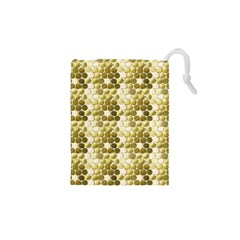 Cleopatras Gold Drawstring Pouches (xs)