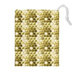 Cleopatras Gold Drawstring Pouches (Extra Large) Front
