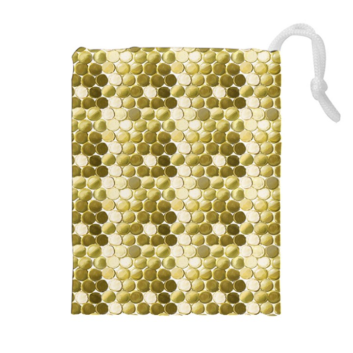 Cleopatras Gold Drawstring Pouches (Extra Large)