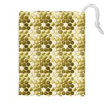 Cleopatras Gold Drawstring Pouches (XXL) Front