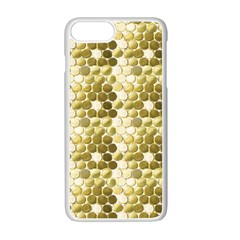 Cleopatras Gold Apple Iphone 7 Plus White Seamless Case