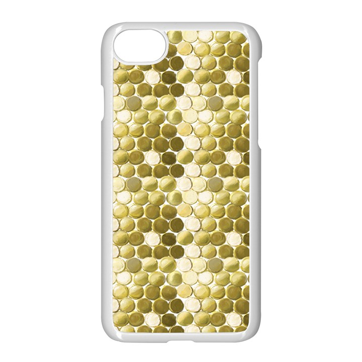 Cleopatras Gold Apple iPhone 7 Seamless Case (White)