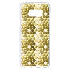Cleopatras Gold Samsung Galaxy S8 Plus White Seamless Case