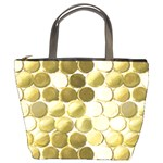 Cleopatras Gold Bucket Bags Front