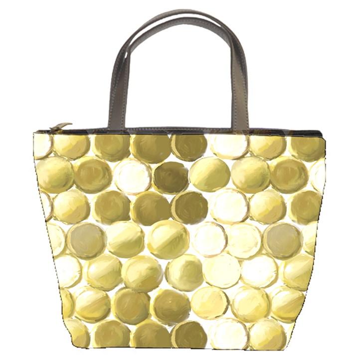 Cleopatras Gold Bucket Bags