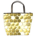 Cleopatras Gold Bucket Bags Back