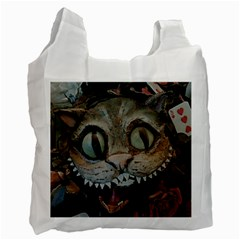 Cheshire Cat Recycle Bag (one Side)