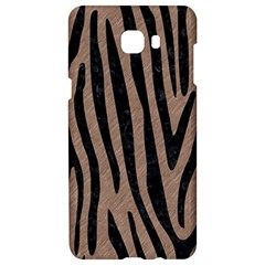 Skin4 Black Marble & Brown Colored Pencil Samsung C9 Pro Hardshell Case
