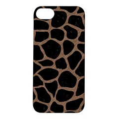 Skin1 Black Marble & Brown Colored Pencil (r) Apple Iphone 5s/ Se Hardshell Case