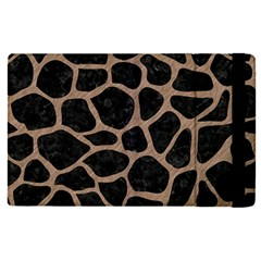 Skin1 Black Marble & Brown Colored Pencil (r) Apple Ipad Pro 12 9   Flip Case