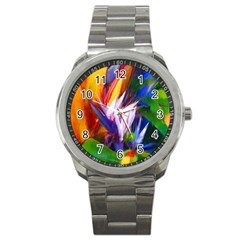 Palms02 Sport Metal Watch