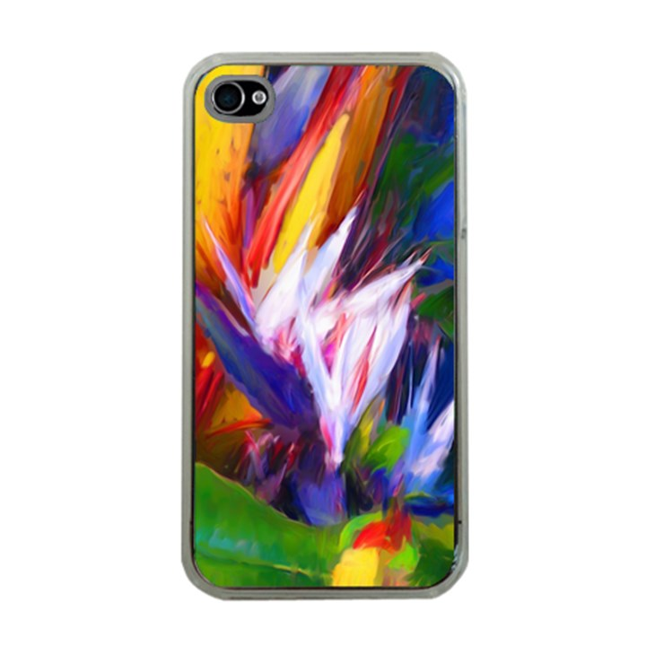 Palms02 Apple iPhone 4 Case (Clear)