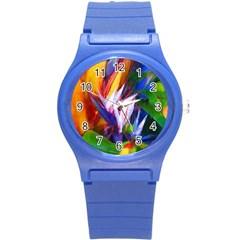 Palms02 Round Plastic Sport Watch (s)