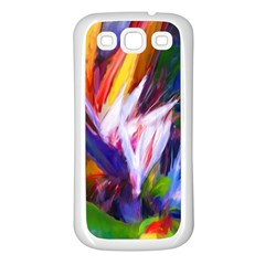 Palms02 Samsung Galaxy S3 Back Case (white)