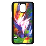 Palms02 Samsung Galaxy S5 Case (Black) Front