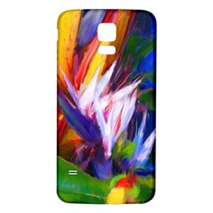 Palms02 Samsung Galaxy S5 Back Case (white)