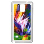 Palms02 Samsung Galaxy Note 4 Case (White) Front