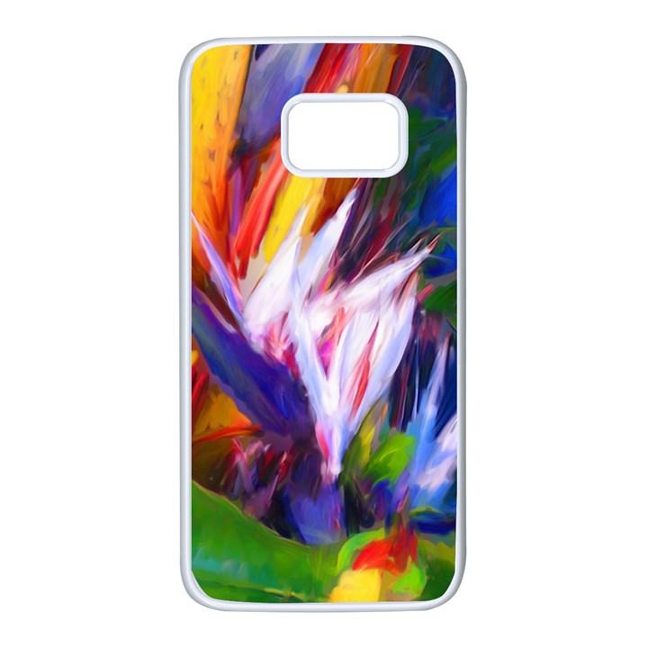 Palms02 Samsung Galaxy S7 White Seamless Case