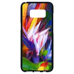 Palms02 Samsung Galaxy S8 Black Seamless Case