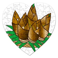 Young Bamboo Jigsaw Puzzle (heart)