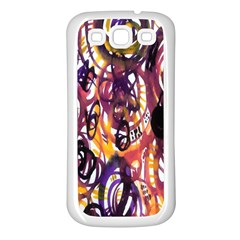 Autumnn Rainbow Samsung Galaxy S3 Back Case (white)
