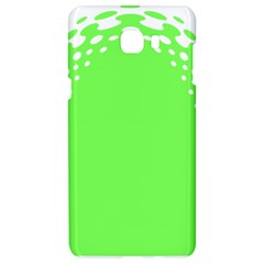 Bubble Polka Circle Green Samsung C9 Pro Hardshell Case