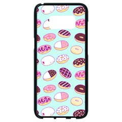 Donut Jelly Bread Sweet Samsung Galaxy S8 Black Seamless Case